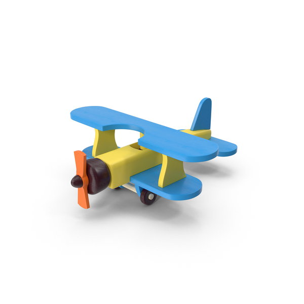 Wooden Toy Aircraft PNG & PSD Images