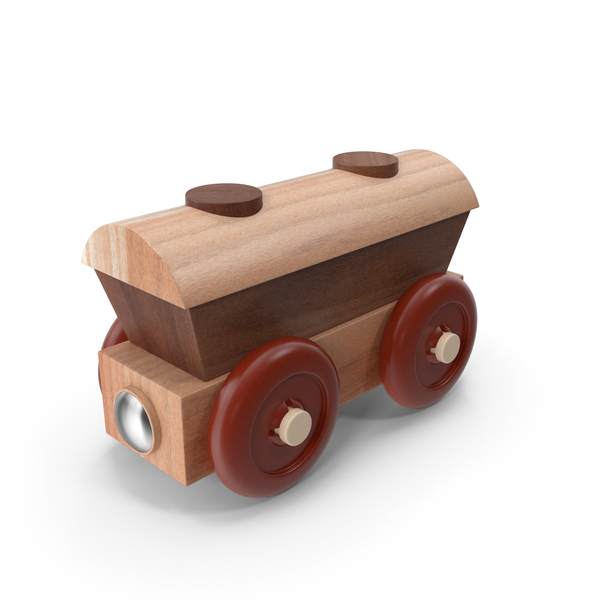Toy Track: Wooden Train PNG & PSD Images