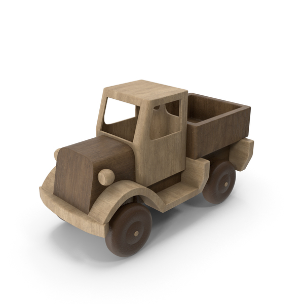 Wooden Truck PNG & PSD Images