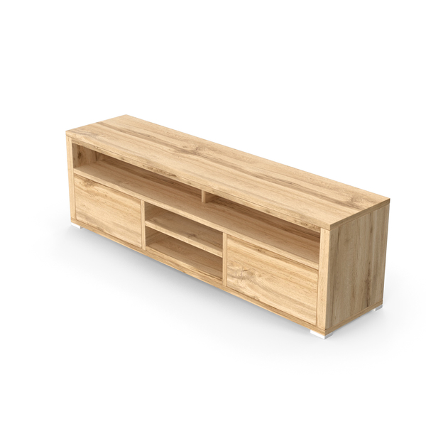 Wooden TV Stand PNG & PSD Images