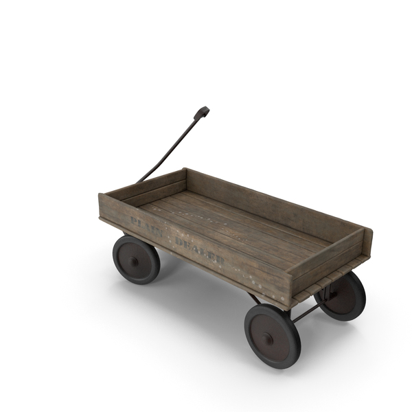 Wooden Wagon PNG & PSD Images