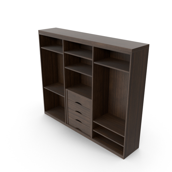 Armoire: Wooden Wardrobe PNG & PSD Images