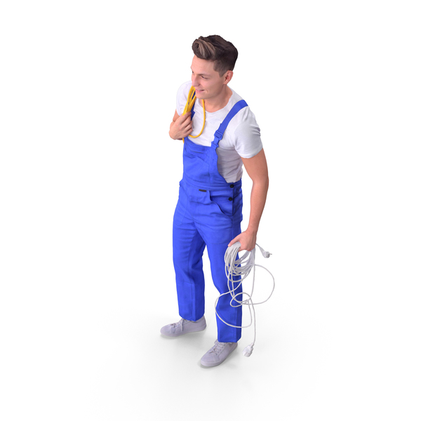 Worker Man PNG & PSD Images