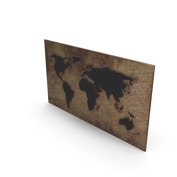 WorldMap PNG & PSD Images