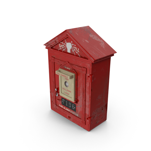 Worn Fire Box PNG & PSD Images
