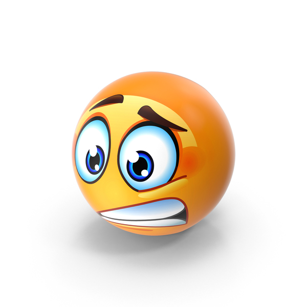 Worried Emoji PNG & PSD Images
