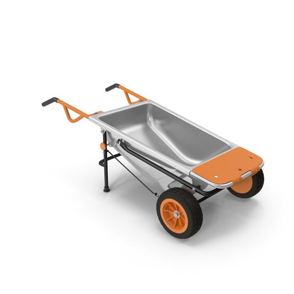 WORX Aerocart 8in1 Wheelbarrow Yard Cart PNG & PSD Images