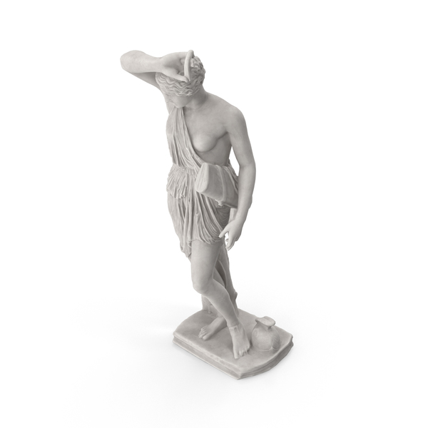Wounded Amazon Statue PNG & PSD Images