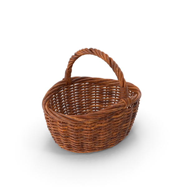 Woven Basket PNG & PSD Images