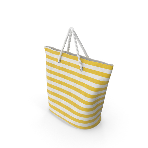 Woven Beach Bag Object