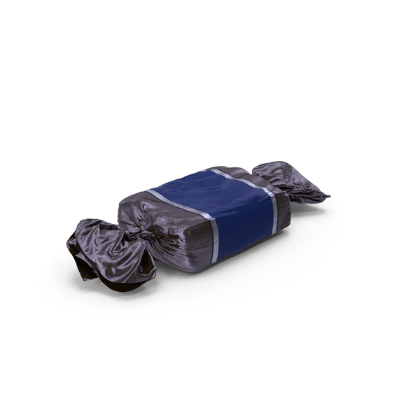 Wrapped Blue Toffee Candy PNG & PSD Images