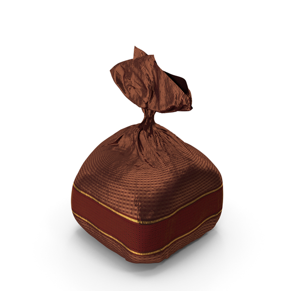 Wrapped Fancy Chocolate Bonbon Red PNG & PSD Images