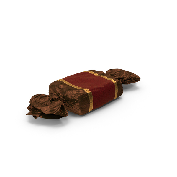 Wrapped Red Toffee Candy PNG & PSD Images