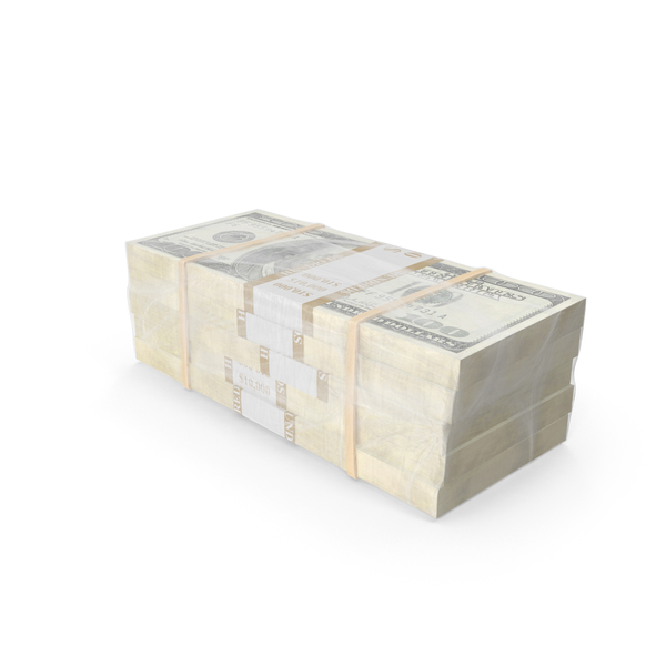 Currency: Wrapped Stack of Bills Object