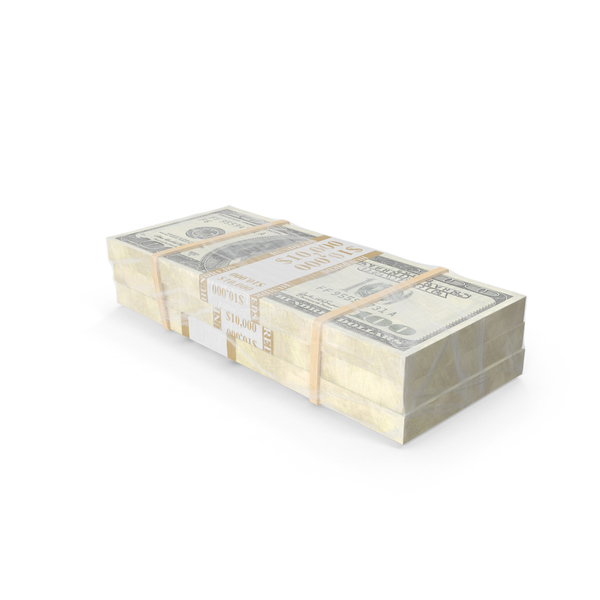 Wrapped Stack of Money PNG & PSD Images