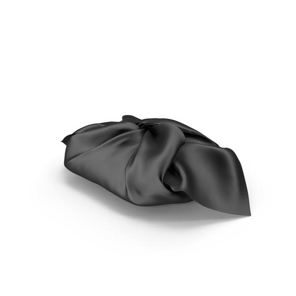 Wrapping Black Cloth Gift PNG & PSD Images