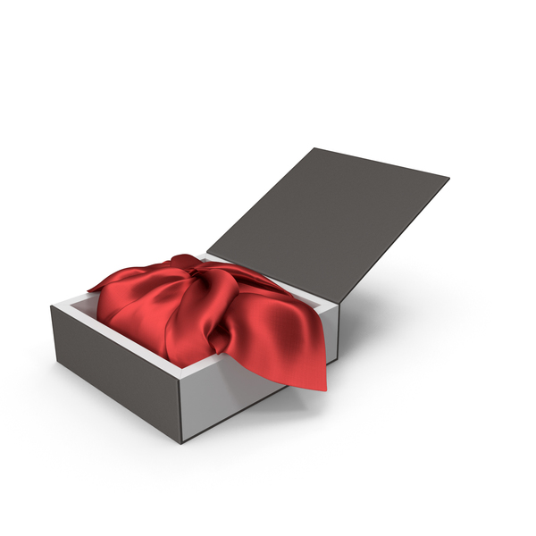 Wrapping Red Cloth Gift Packaging Box PNG & PSD Images