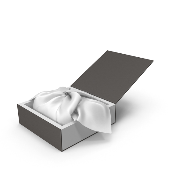 Wrapping White Cloth Gift Packaging Box PNG & PSD Images
