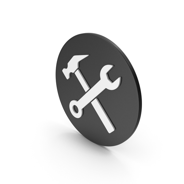 Logo: Wrench And Hammer Icon PNG & PSD Images