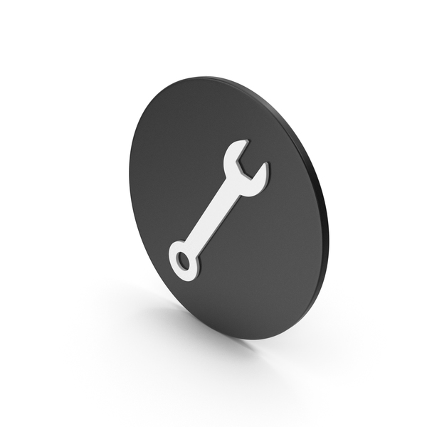 Symbols: Wrench Icon PNG & PSD Images