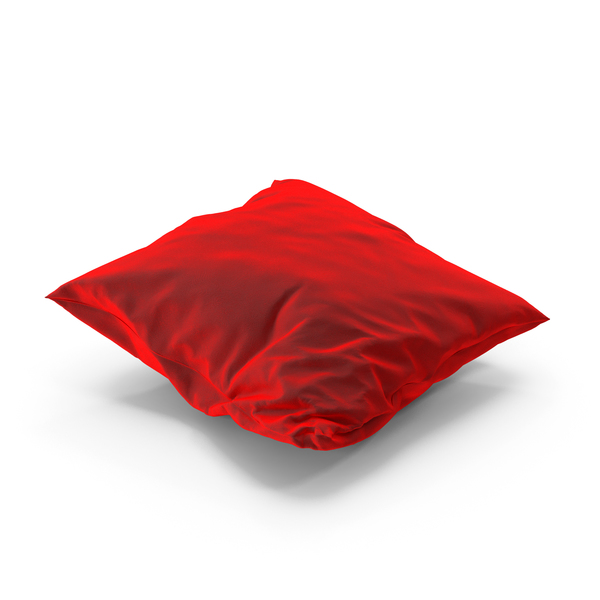 Bed: Wrinkly Pillow Velvet PNG & PSD Images