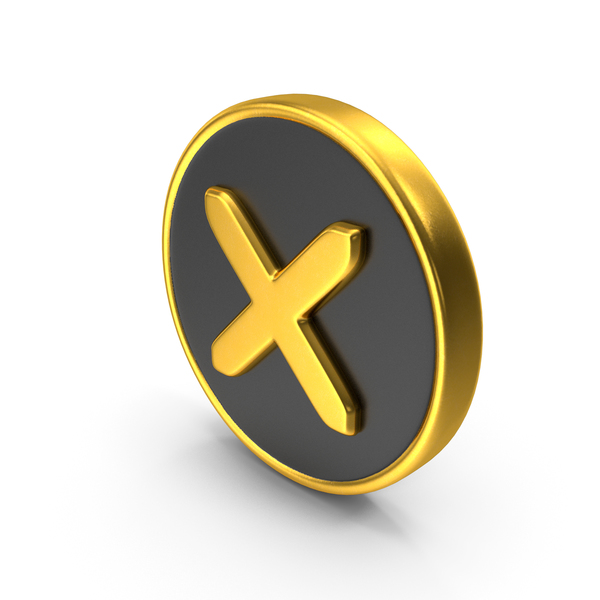 Wrong Cross Logo Icon PNG & PSD Images