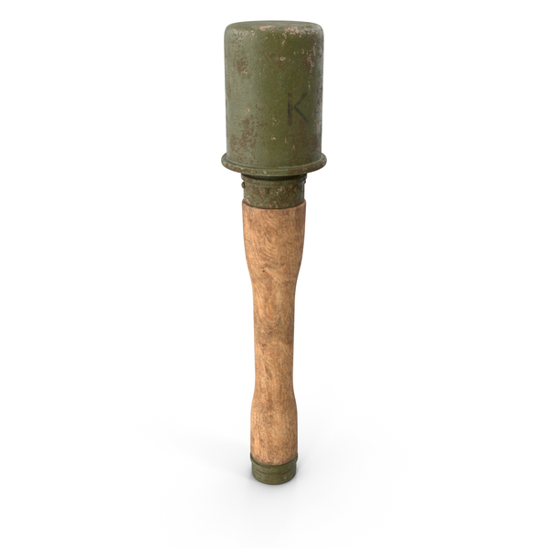 WW2 Germany Stick Grenade PNG & PSD Images