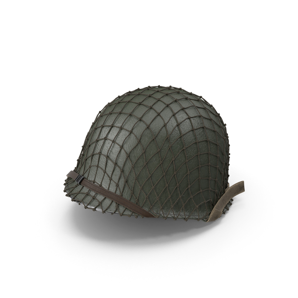 WWII M1 Helmet PNG & PSD Images