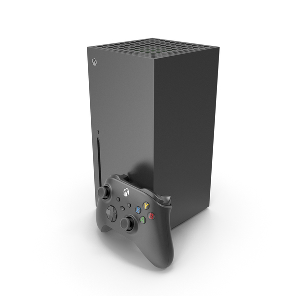 X-Box Series X Set 2020 PNG & PSD Images