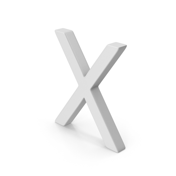 X Letter PNG & PSD Images