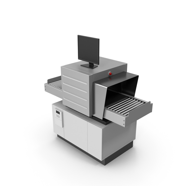 Machine (Security): X-Ray Baggage Scanner PNG & PSD Images