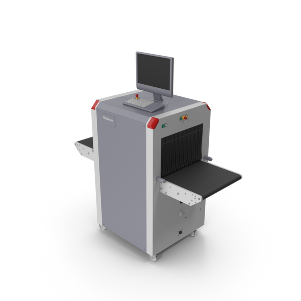 X Ray Baggage Scanner PNG & PSD Images