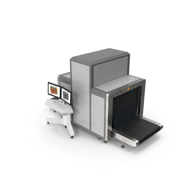 Machine (Security): X-Ray Luggage Scanner PNG & PSD Images