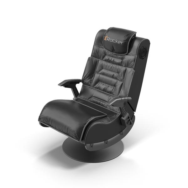Gaming Seat: X Rocker Pro PNG & PSD Images