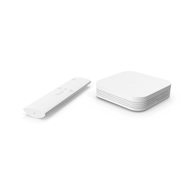Xiaomi Mi Box 3 Enhanced PNG & PSD Images