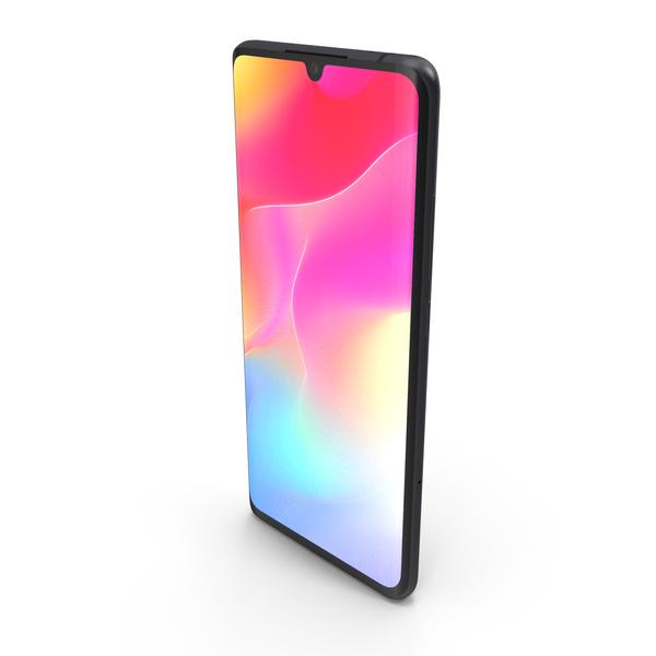Xiaomi Mi Note 10 Lite Midnight Black PNG & PSD Images