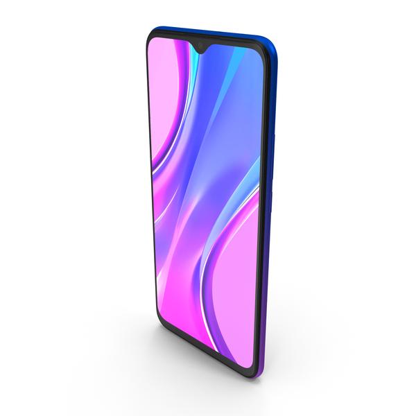 Xiaomi Redmi 9 Purple PNG & PSD Images