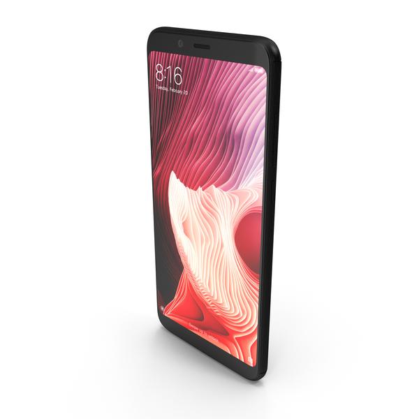 Xiaomi Redmi Note 5 Pro Black PNG & PSD Images