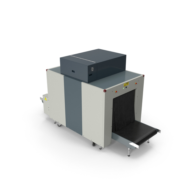 X Ray (Security): Xray Luggage Scanner Machine PNG & PSD Images