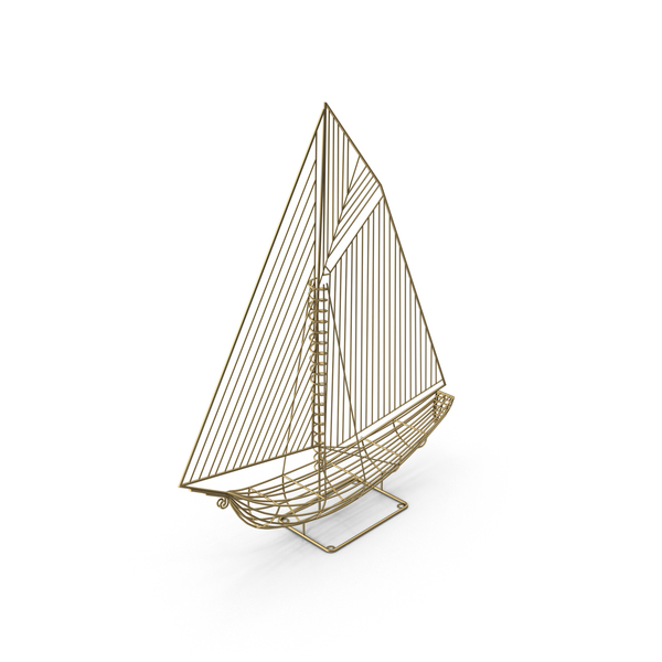 Yacht Ship Sculpture PNG & PSD Images