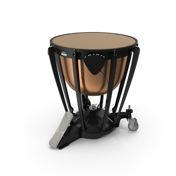 Yamaha Hammered Copper Concert Timpani PNG & PSD Images