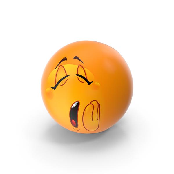 Yawning Emoji PNG & PSD Images