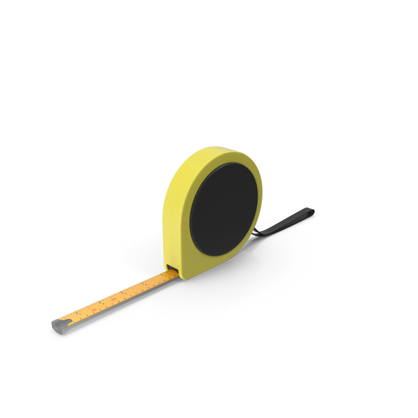 Yellow and Black Tape Measure PNG & PSD Images