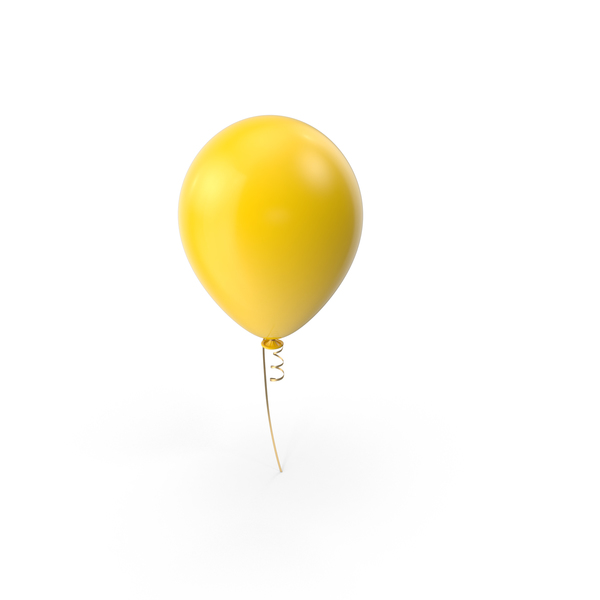 Yellow Balloon PNG & PSD Images