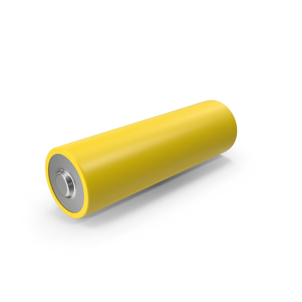 Aa: Yellow Battery PNG & PSD Images