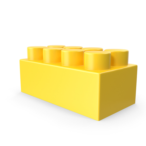 Yellow Building Block PNG & PSD Images