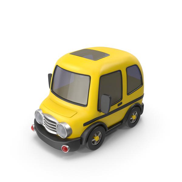 Taxi: Yellow Car PNG & PSD Images