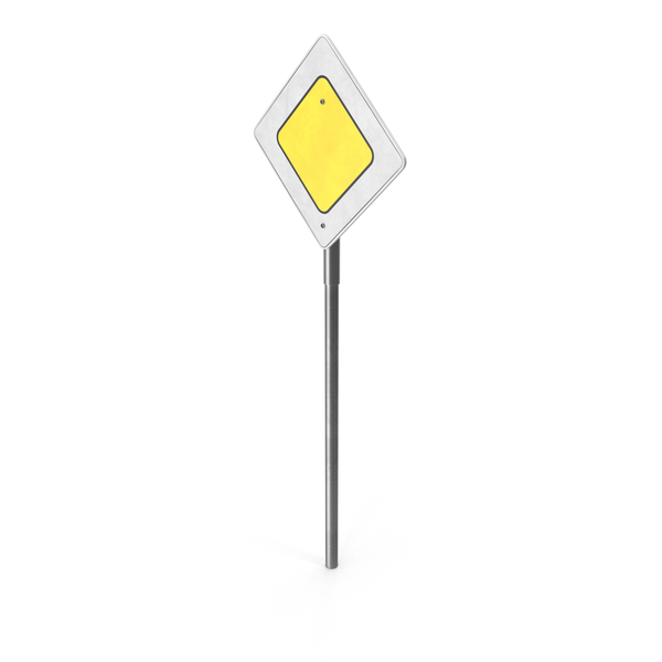 Yellow Caution Sign PNG & PSD Images