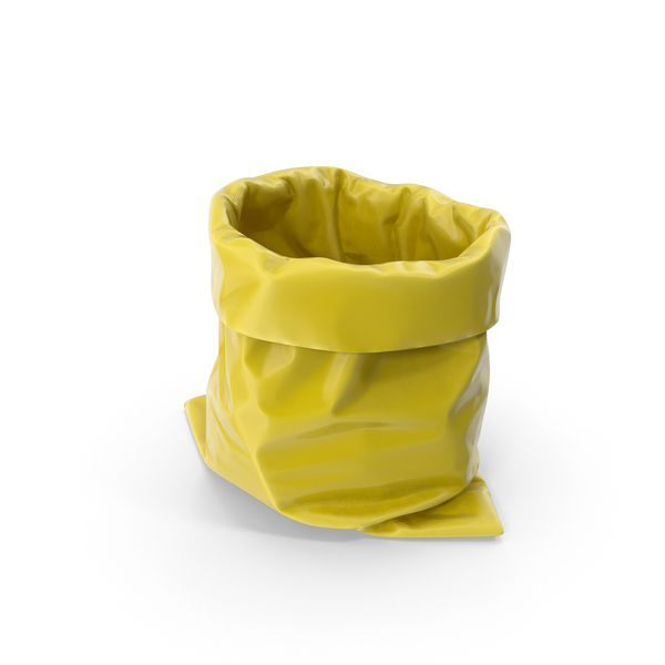 Yellow Garbage Bag PNG & PSD Images