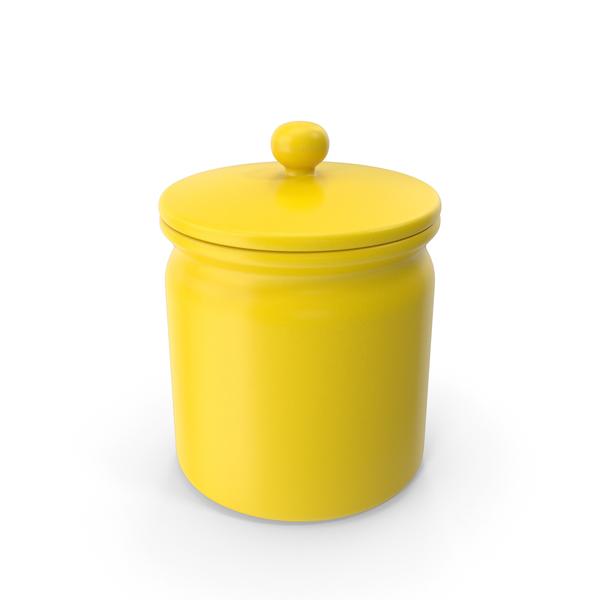 Vase: Yellow Jar PNG & PSD Images